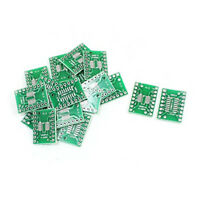 50Pcs SOP16 SSOP16 TSSOP16 to DIP16 Two Sides PCB Adapter 1.27/0.65mm