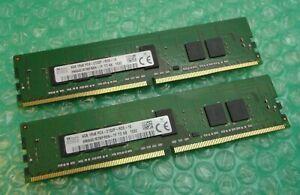 8GB (2 x 4GB) SK Hynix HMA451R7MFR8N-TF TD AB PC4-2133P DDR4 1Rx8 Server Memory