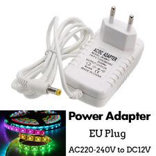 AC 220V à DC 12V 2A Adaptateur Alimentation Transformateur EU Plug Pr LED Bande