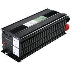 3000W/6000W 12V Onda Sinusoidal Modificada - 240V vatios potencia del inversor Camper inversor van