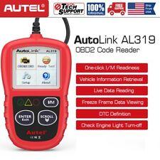 Autel AL319 OBD2 Car Auto Code Reader Tool MIL I/M Live Date Diagnostic Scanner