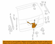 Genuine Toyota OEM 2011- up Sienna Trunk Hatch Door Lock Assy 69350-08040