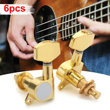 6Pcs 3L 3R Acoustic Guitar Tuning Pegs Keys Machine Heads Knobs Tuners String