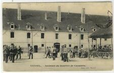 AK Vesoul, Interieur du Quartier de Cavalerie, 1910
