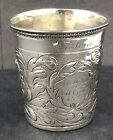 18th Century Silver beaker   German   Danish   circa 1732