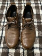 Cole Haan Brown Leather Chukka Ankle Boots Men's Size 10.5 M