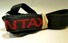PENTAX Red-Black Neck Shoulder Strap Canvas Genuine K1 K3 K70 K1000 cameras
