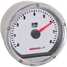 Tachometer in Chrom Farbe für Motorrad