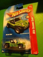2008 Hot Wheels #80 Web Trading Cars Green Meyers Manx