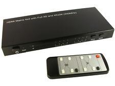 GC1324 4 x 2 HDMI matrix switch with 3d & 4k x 2k