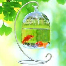 Hanging Glass Vase Flower Plant Terrarium Home Decor Fish Tank Clear Container