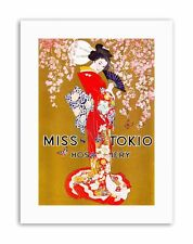Ropa Ropa Interior Medias Geisha Kimono japonés Póster Imagen Lienzo Arte EE. UU.