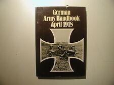German Army Handbook April 1918 englisch