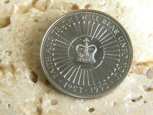 1993  COIN HUNT £5 FIVE POUND COIN  CORONATION ANNIVERSARY    BUNC