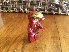 LEGO 6869 - Super Heroes - Iron Man with Circle on Chest Mini Fig Flip Up Mask