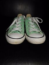 Converse Mint Women's Low Top TrainersUK size 2, Fast postage