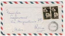 C3348-Somalia,  AFIS lettera P.A da Mogadiscio per Roma, 1959