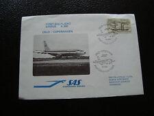 NORVEGE - enveloppe 18/2/1980 (oslo/copenhagen) (cy22) norway