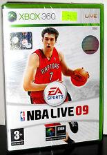 EA SPORTS NBA LIVE 09 2009 GIOCO NUOVO PER XBOX 360 IN EDIZIONE ITALIANA PG685