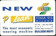 SCHEDE PRIVATE RESE PUBBLICHE L. 2000  NUOVA GOLDEN N. 255 INTIMA 95 SULZER RUTI