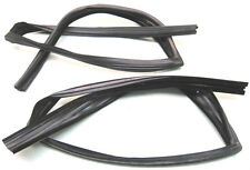1980-1990 Chevrolet Caprice & Impala 4dr rear door window channel seals, pair