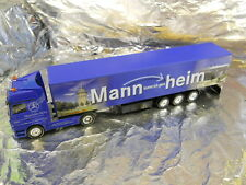 ** Herpa 275613 Mercedes Actros Curtain Canvas Semitrailer May Market Mannheim