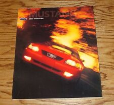 Original 2000 Ford Mustang Foldout Sales Brochure Poster 00 GT Coupe