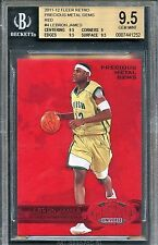 1997-98 Fleer retro PMG precious metal gems Lebron James serial#150 bgs 9.5 GEM