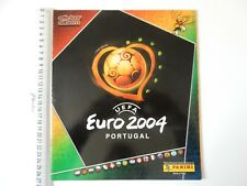 PANINI UEFA EURO 2004 PORTUGAL EMPTY STICKER ALBUM + 6 STICKERS 48 PAGES BP3