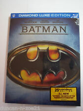 Batman (Blu-ray Disc, 2014, Diamond Luxe Edition; 25th Anniversary)
