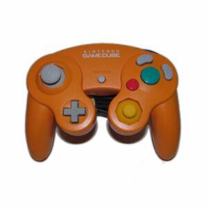 Official Nintendo Gamecube Remote Controller Spice Orange OEM Wii DOL-003 NICE