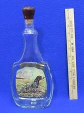 James Lockhart German Shorthair Pointer Beam Liquor Bottle Decanter Glass