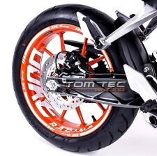 Wheel Sticker KTM Duke RC 125 200 250 390 Nr.3 Rim Stripes Decal TOMTEC-Racing