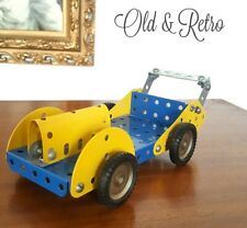 VINTAGE CLASIC RACING CAR MECCANO FRANCE man cave toy