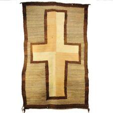 Antique Navajo Saddle Blanket Weaving Rug Ca 1900