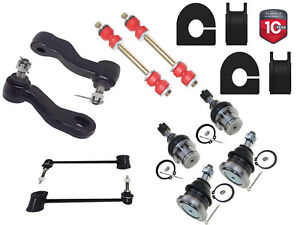 "14PC Front Sway Bar Link Ball Joint Pitman Idler Kit Chevrolet GMC 1 3/16"" BAR"