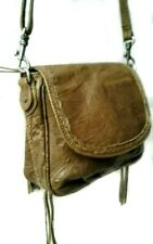 Old Trend Modern Vintage Crinkle  Bamboo Soft Leather Crossbody $278
