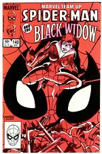 Marvel Team-Up #140 Black Widow Issue! F/Vf (7.0) Spider-Man! Daredevil Story