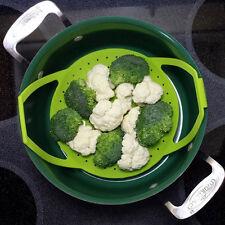 Vegetable Steamer - Silicone Food Steamer Easiest Steamer Healthy Cooking new