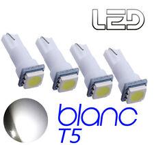 4 ampoules LED T5 w1.2w Blanc Lampe lecture tableau de bord miroirs éclairage