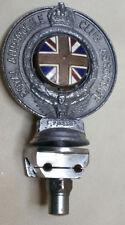 Vintage Royal Automobile Club Association car grille badge 1920-30s bracket