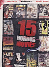 15 HORROR MOVIES 2 (BOXED SET DVD) (E)