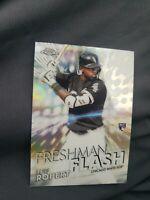 2020 Topps Chrome Luis Robert Freshman Flash Refractor RC #FF-5 White Sox