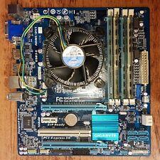 Gigabyte GA-H77M-D3H / Socket LGA 1155 / MicroATX mit CPU & RAM