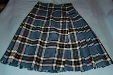 Damen - Schottenrock Kilt Clan Thomson blau-weiß-rot-gelb Lochcarron