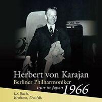 Karajan Berliner Philharmoniker tour in Japan 1966 J.S.Bach Brahms Dvorak