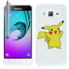 Coque POKEMON GO Pikachu Silicone TPU Ultra-Fine Samsung Galaxy J3 (2016) J320F