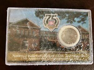 National Baseball Hall of Fame 75th Anniversary Commemorative Half Dollar Coin