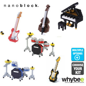 Nanoblock Mini Collection Musical Instruments Micro Building Blocks 12yr+