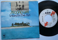 "Second Life / Island In The Sun / You Are Love 7"" Single Vinyl 1978 Promo!"